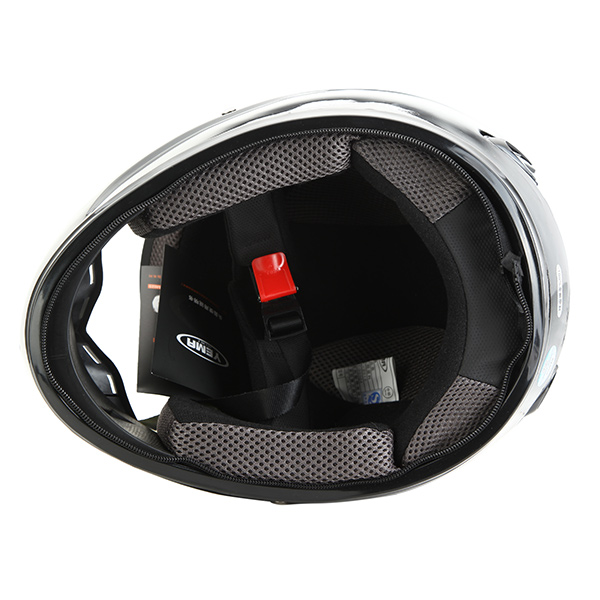 Motorcycle Scooter Winter Full Covered Type Helmet With Warm Scarf