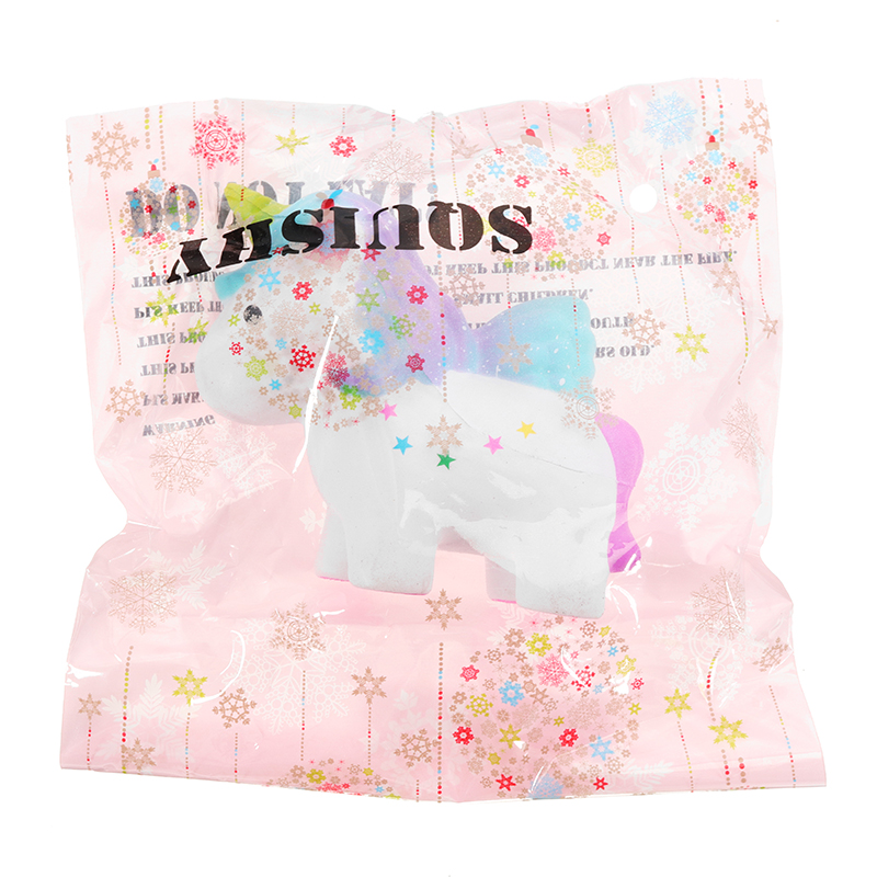 Unicorn Squishy 7x10cm Slow Rising With Packaging Collection Gift Soft Toy