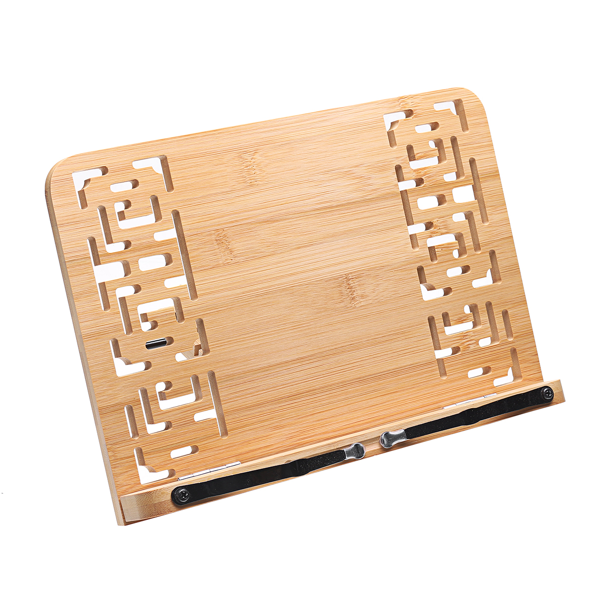 Multifunction Wood Table Stand Reading Bookshelf Bracket 28*20cm Tablet PC Pad Drawing Support Wooden Bookends Desk Organizer Stationery