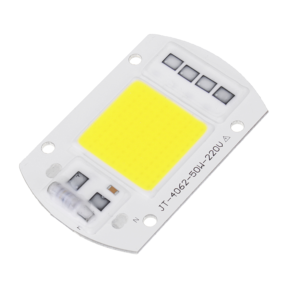 High Powered 50W COB LED Chip Light Source AC190-240V for DIY Spotlight Floodlight