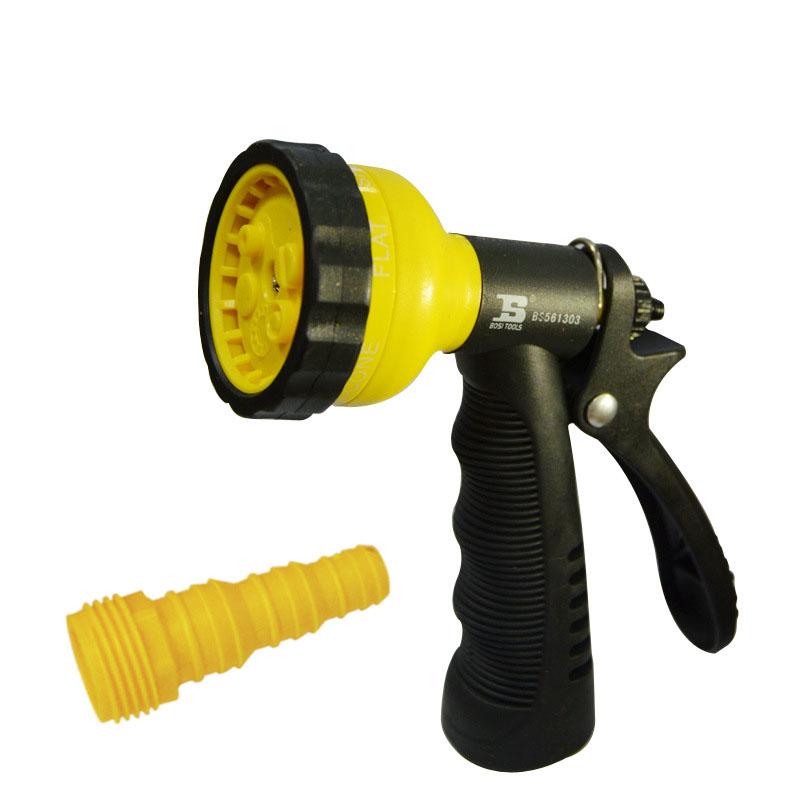 Multifunctional Garden Hose Nozzle Hand Sprayer 5 Pattern Watering Nozzle