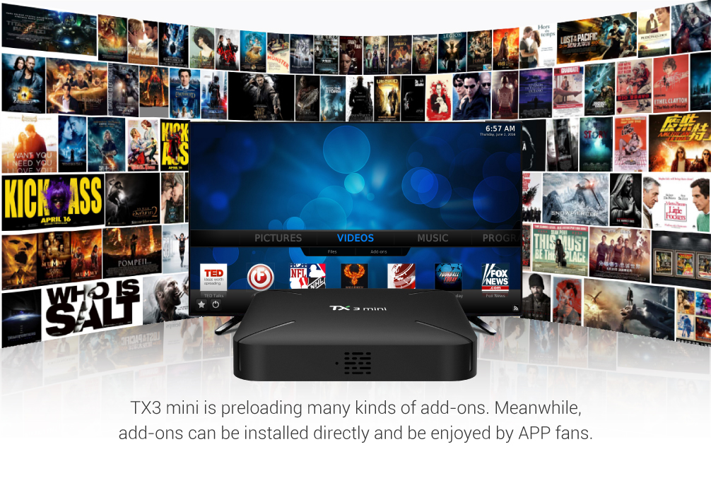 Tanix TX3 MINI L Amlogic S905W 1GB RAM 8GB ROM TV Box