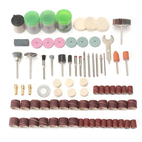 200pcs Rotary Polishing Tool Accessory Set Polishing Sanding Kit for Crafting