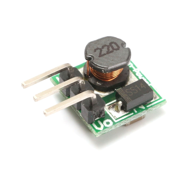 5pcs Mini DC-DC 0.8-5V To DC 5V Step Up Boost Power Mod
