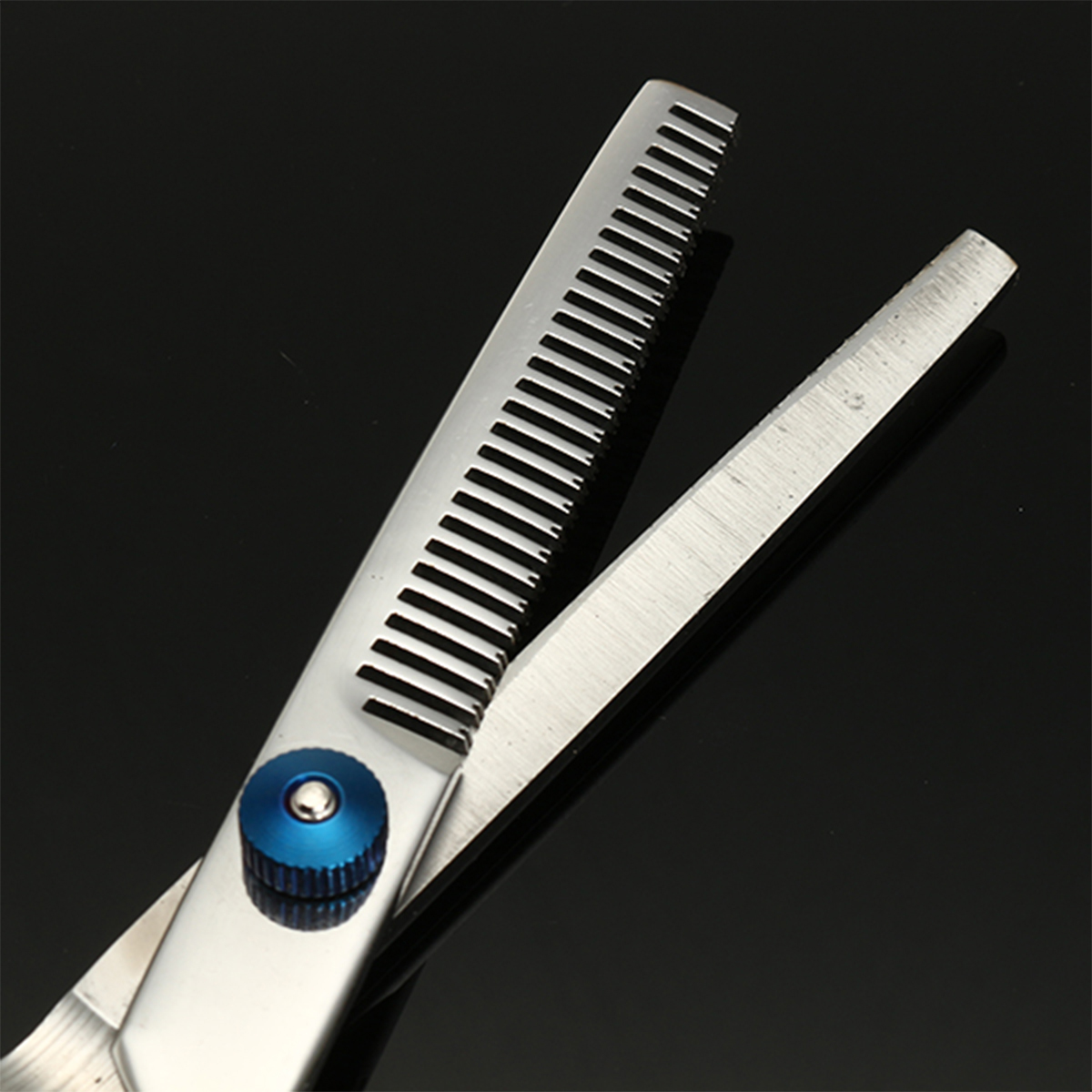 6.8 inch Salon Hair Cutting Scissors Comb Clips Barber Kit