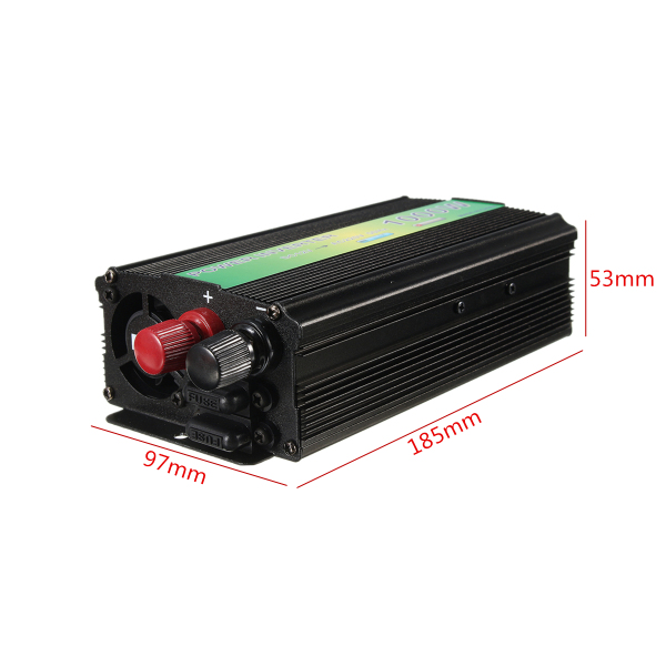 DC 12V to AC 220V 1000W Modified Sine Wave Power Inverter USB Charger Adapter