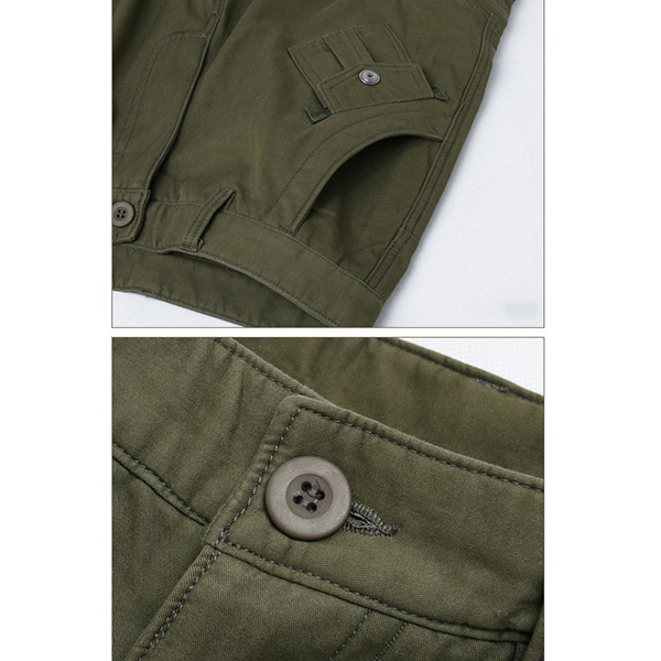 Thick Loose Polar Fleece Lined Cargo Pants Mens Casual Multi Pockets Outdooors Trousers