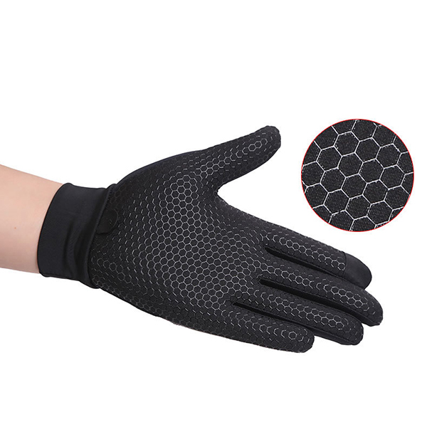 Mens Silicone Riding Non-slip Touch Screen Gloves