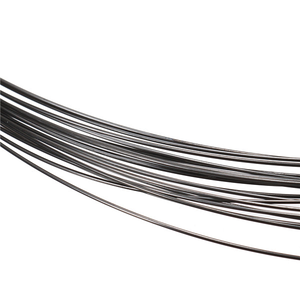 10m Purity 99.95% Tungsten W Wire Diameter 0.5mm Black Vacuum Heating W Material