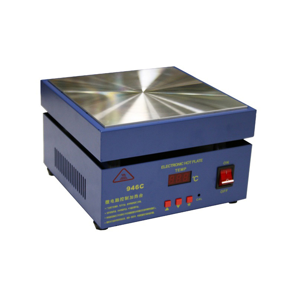 100x100mm 946C 110 220V 450W Hot Plate Preheat Preheating Desoldering Station for PCB SMD Heating