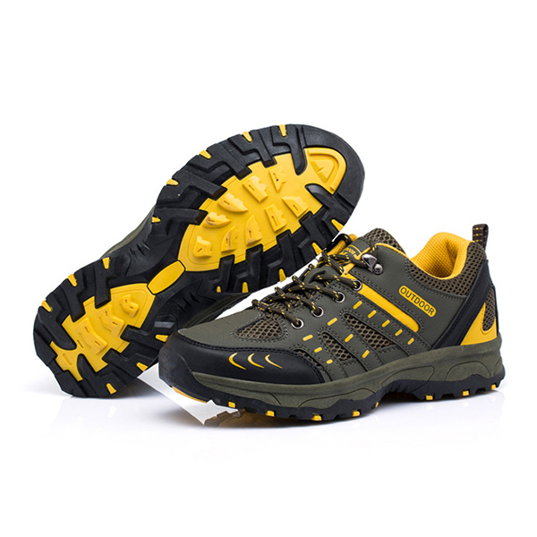 Men Comfy Breathable Outdoor Hiking Athletic Shoes