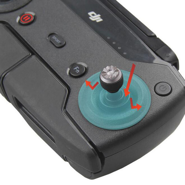 Remote Control Rocker Stick Dustproof Protection Cover Soft Silicone for DJI Mavic Pro Spark