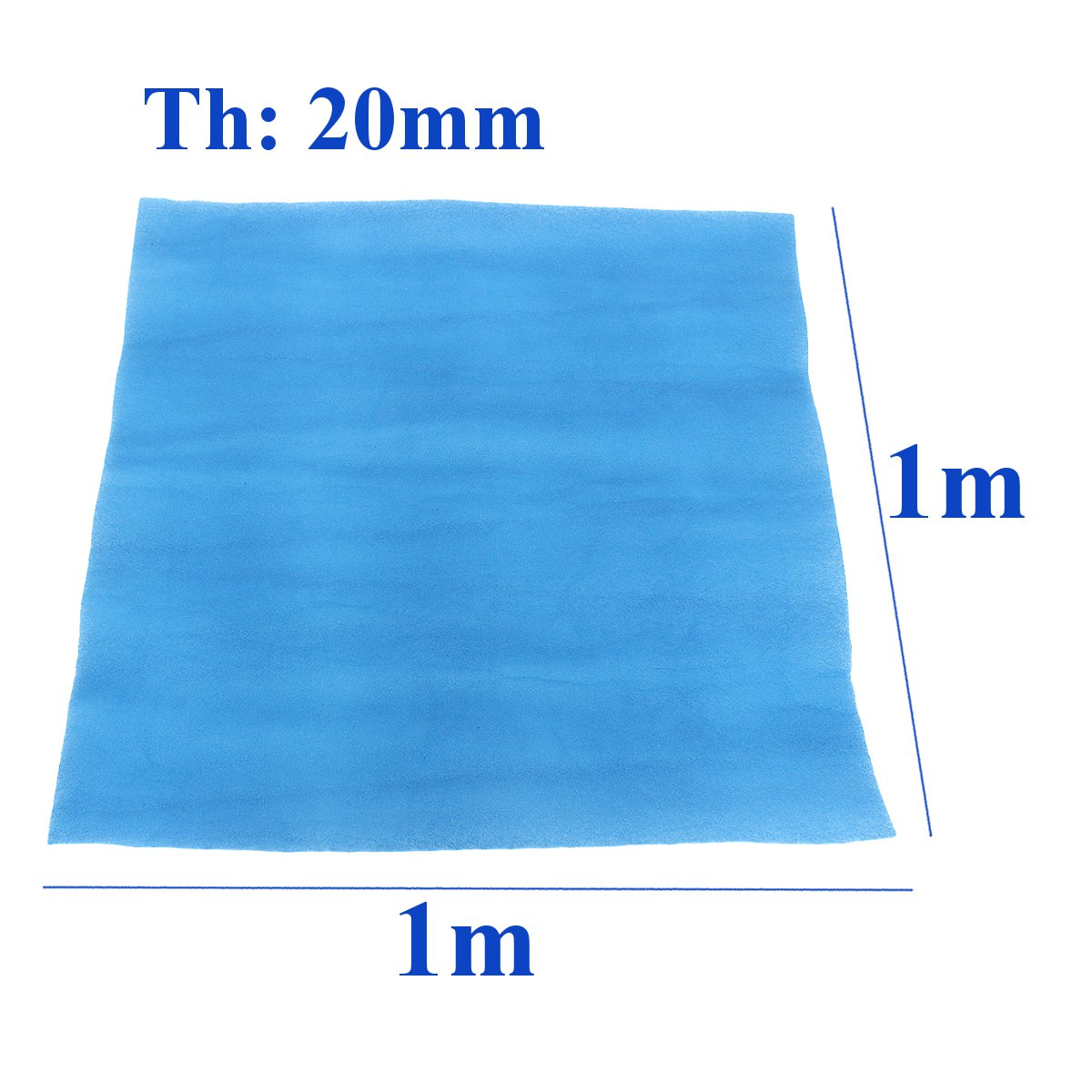 1x1m Booth Air Filter Material Paint Shop Car Spray Atomize Thickness 20mm