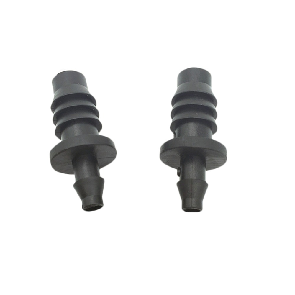 8/11mm to 4/7 mm Multi-Function Plug Irrigation Plug Capillary Plug Garden Water Connectors Micro Spray Plastic Hose End Plug Seal Stoppers Sprinkler Irrigation Drip Irrigation Supplies For Garden