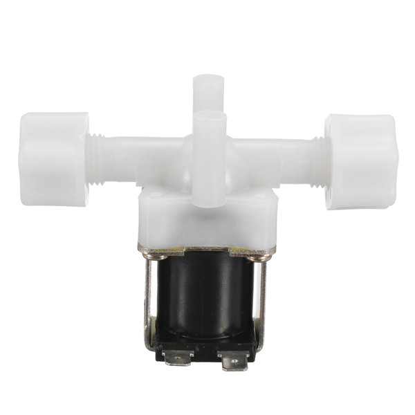 DC 12V 1/2 Inch Plastic Normally Closed Solenoid Valve Water Flow Control Switch