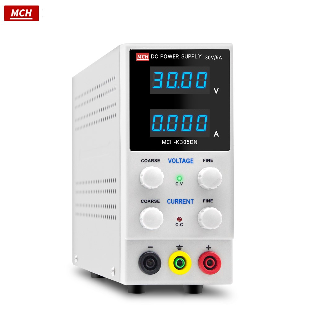 MCH-K305DN New Design 4-digit Display 0-30V 0-5A Adjustable Regulated DC Switching Power Supply