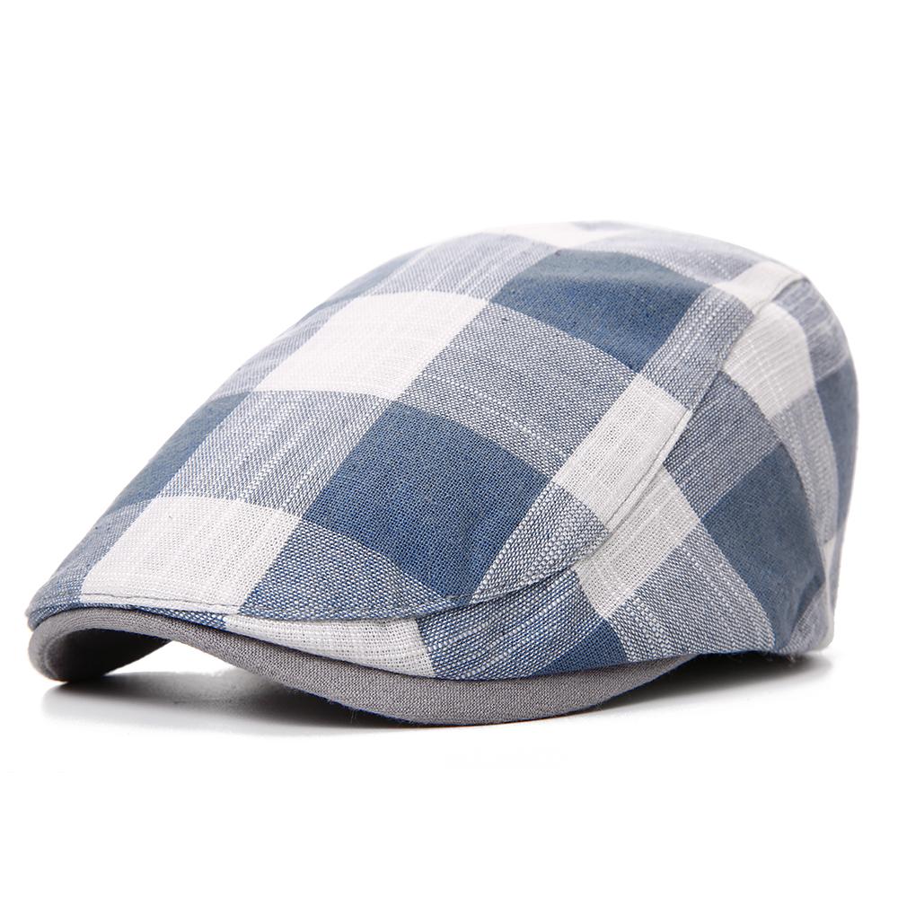 Summer Adjustable Cotton and Linen Painter Beret Hat