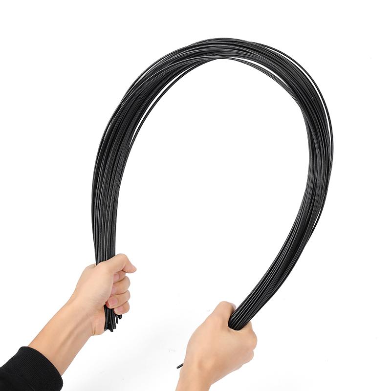 40PCS Black PP Plastic Welding Rods for Plastic Weldeing Gun/Hot Air Gun/Welding Tool