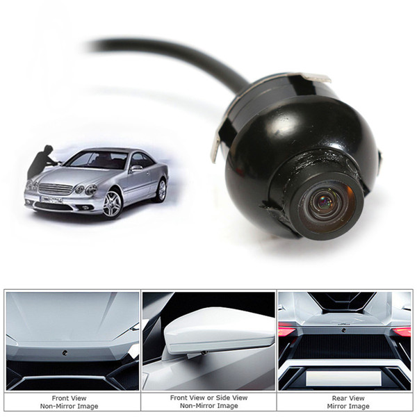 360 degree CCD HD Car Front Side Night Vision Rear View Parking Eyeball Reverse Camera