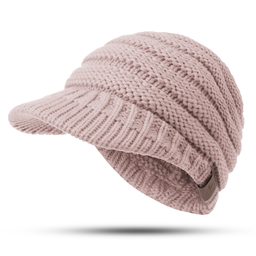 Womens Winter Warm Thicken Ponytail Beanie Hat