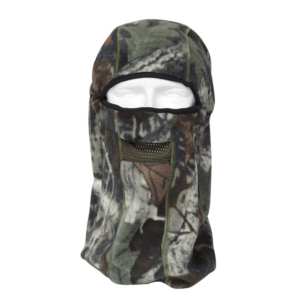Fleece Balaclava Hat Mask Warm Camo Winter Cycling Ski Multifunction Motorcycle