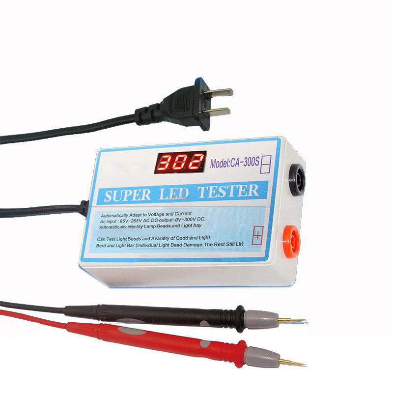 Bandes à LED testeur 0-300V sortie testeur de rétroéclairage LED pour application LED moniteur réparation ordinateur portable avec outil de test de commutateur