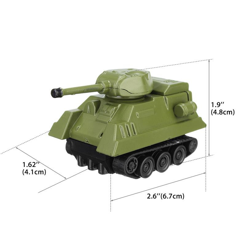Mini Tank Small Micro Electric Line Following Tank Car Toys Friends Children Birthday Gift