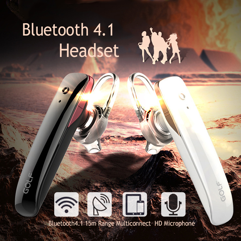 GOLF B5 Business Light Weight Wireless bluetooth Earphone Earbud with Mic for Xiaomi Mobile Phone