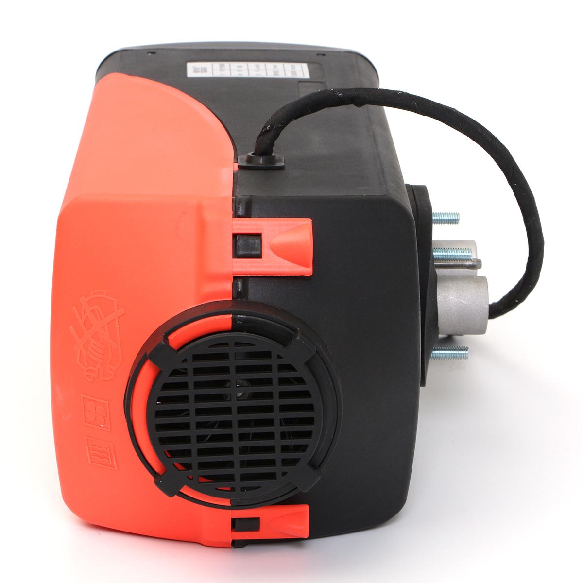 24V/12V 5kw Diesel Air Parking Heater 4 Holes Diesel Heating with Digital Switch