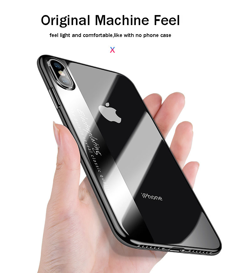 Bakeey Plating Protective Case ForiPhone X/8/8 Plus/7/7 Plus/6s/6s Plus/6/6 Plus