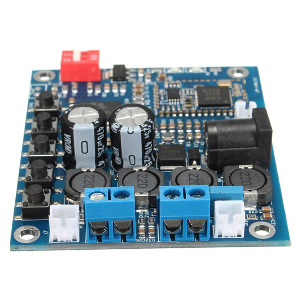 TDA7492P Digital bluetooth CSR4.0 Audio Receiver Amplifier Module Board 25W+25W