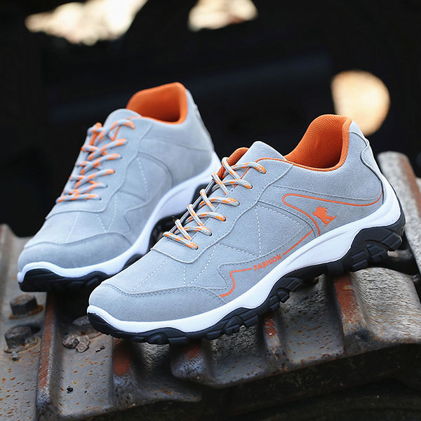 Men Comfortable Wear Resistance Outsole Outdoor Hiking Athletic Shoes