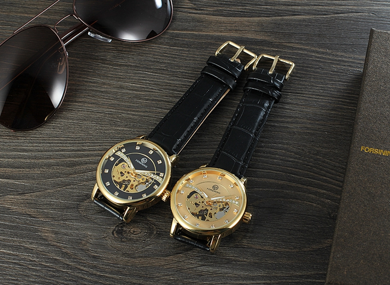 FORSINING H099M Exquisite Fashion Casual Men Self-winding Mechanical Wrist Watch