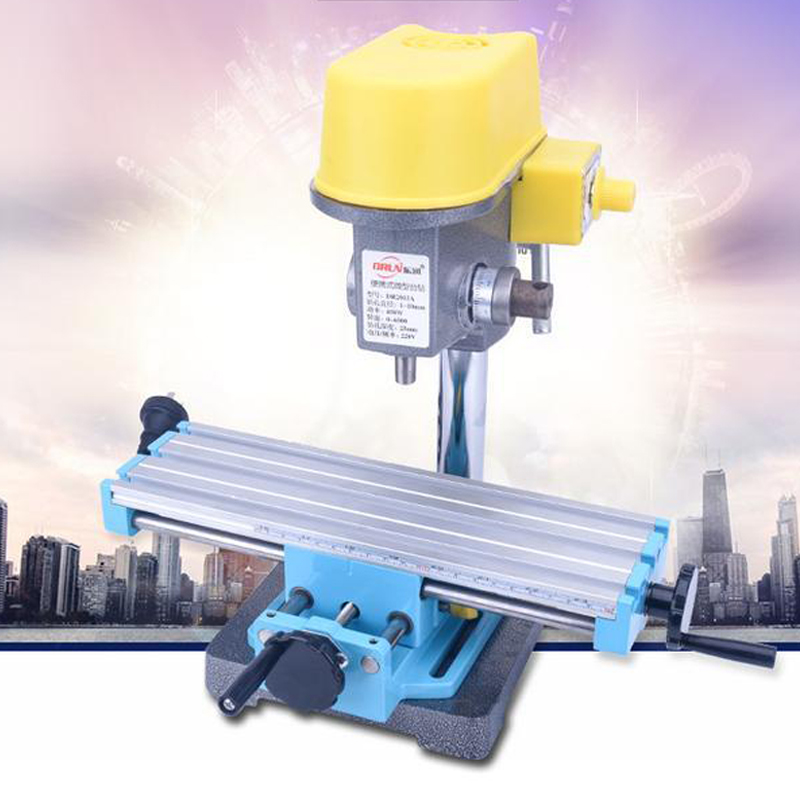 Mini Precision Milling Machine Worktable Multifunction Drill Vise Fixture Working Table