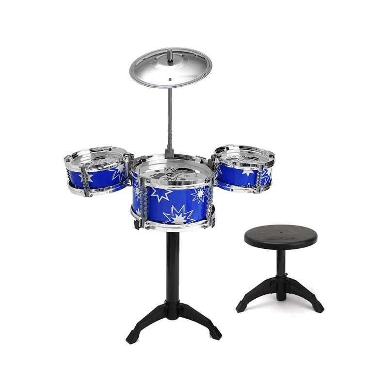 Jazz Drum Rock Set 15*18in Child Kids Musical Instrument Toy Gift