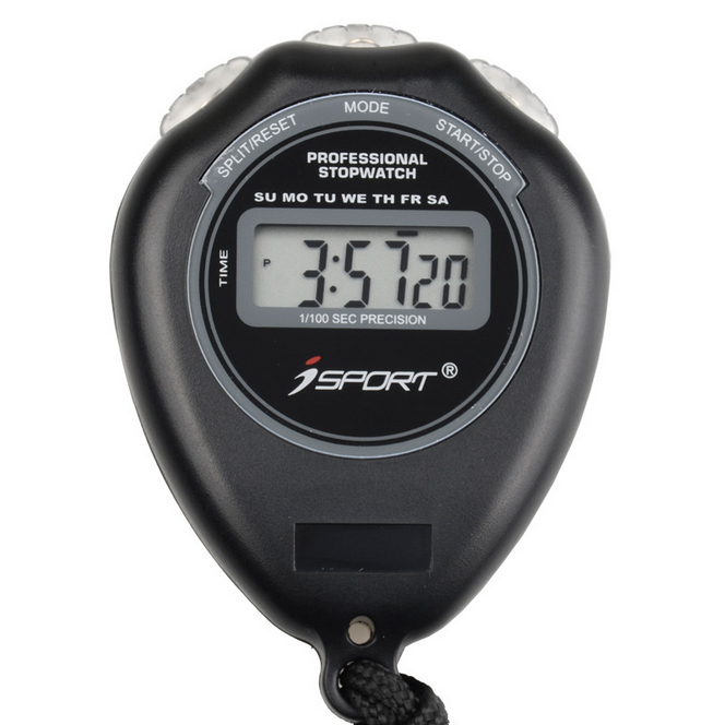 IPRee® Waterproof Electronic Stopwatch Digital Handheld Time Alarm Counter for Running Swimming