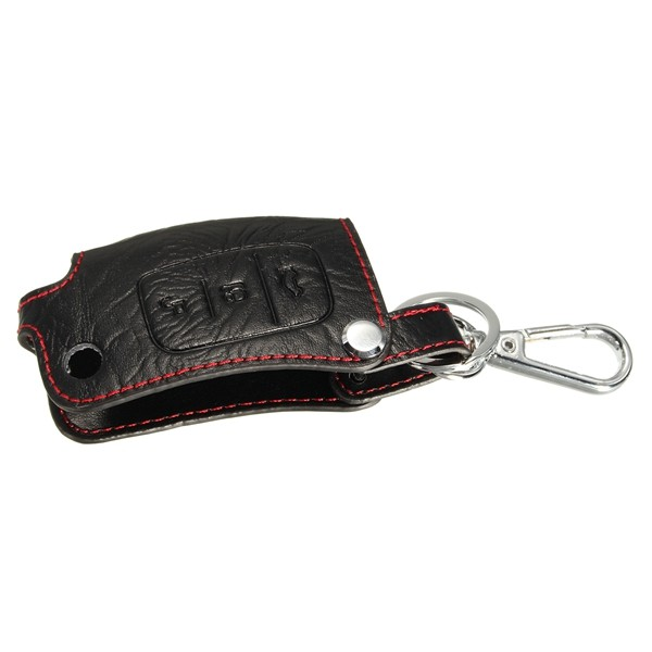 PU Leather Remote Key Holder Case Cover Bag Fob for FORD FOCUS FIESTA MONDEO 3B