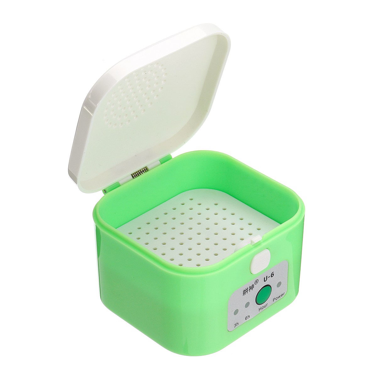 Digital Hearing Aid Dryer Electric Drying Box Dehumidifier 3/6 Hour Timer Moisture Proof Maintain