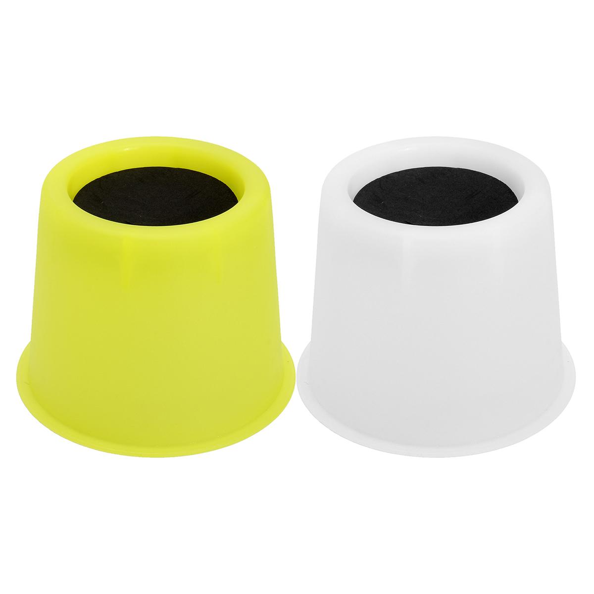 4Pcs PP Bed Riser Chair Booster Furniture Lifter Elephant Feet Luminous Set Furniture Raiser