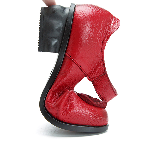 SOCOFY Leather Vintage Sandals For Women