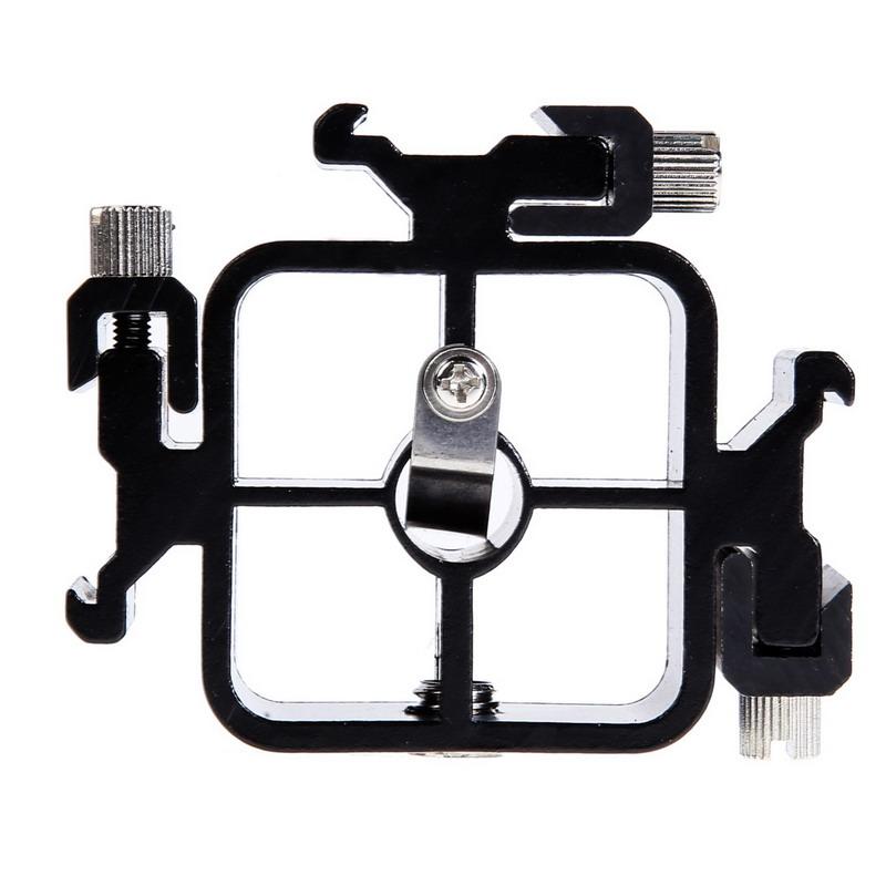 Triple Hot ShoE Mount Adapter Flashlight Stand Umbrella Holder Bracket for Canon Nikon Pentax