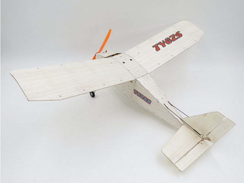 TY model LX17 375mm Wingspan Balsa Wood Laser Cut RC Airplane KIT