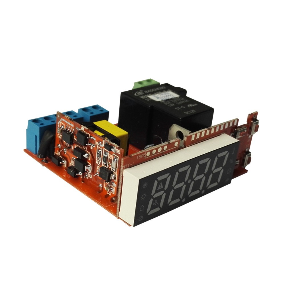 ZL-7830A 30A Relay 100-240Vac Digital Humidity Meter Hygrometer Hygrostat