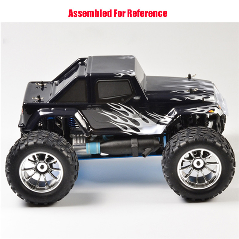 White&Black RC Car Body Shell Cover For HSP Scale 1/10 Monster Truck No.94188