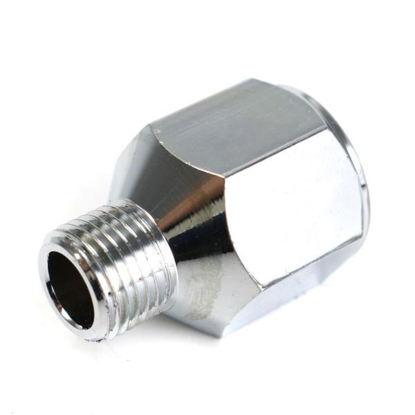 4pcs Airbrush Hose Adaptor Fitting 1/4 Inch BSP Female to 1/8 Inch BSP Male Connector