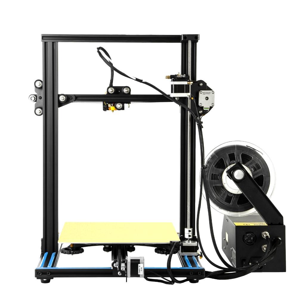 Creality 3D® CR-10 Blue DIY 3D Printer Kit 300*300*400mm Printing Size 1.75mm 0.4mm Nozzle
