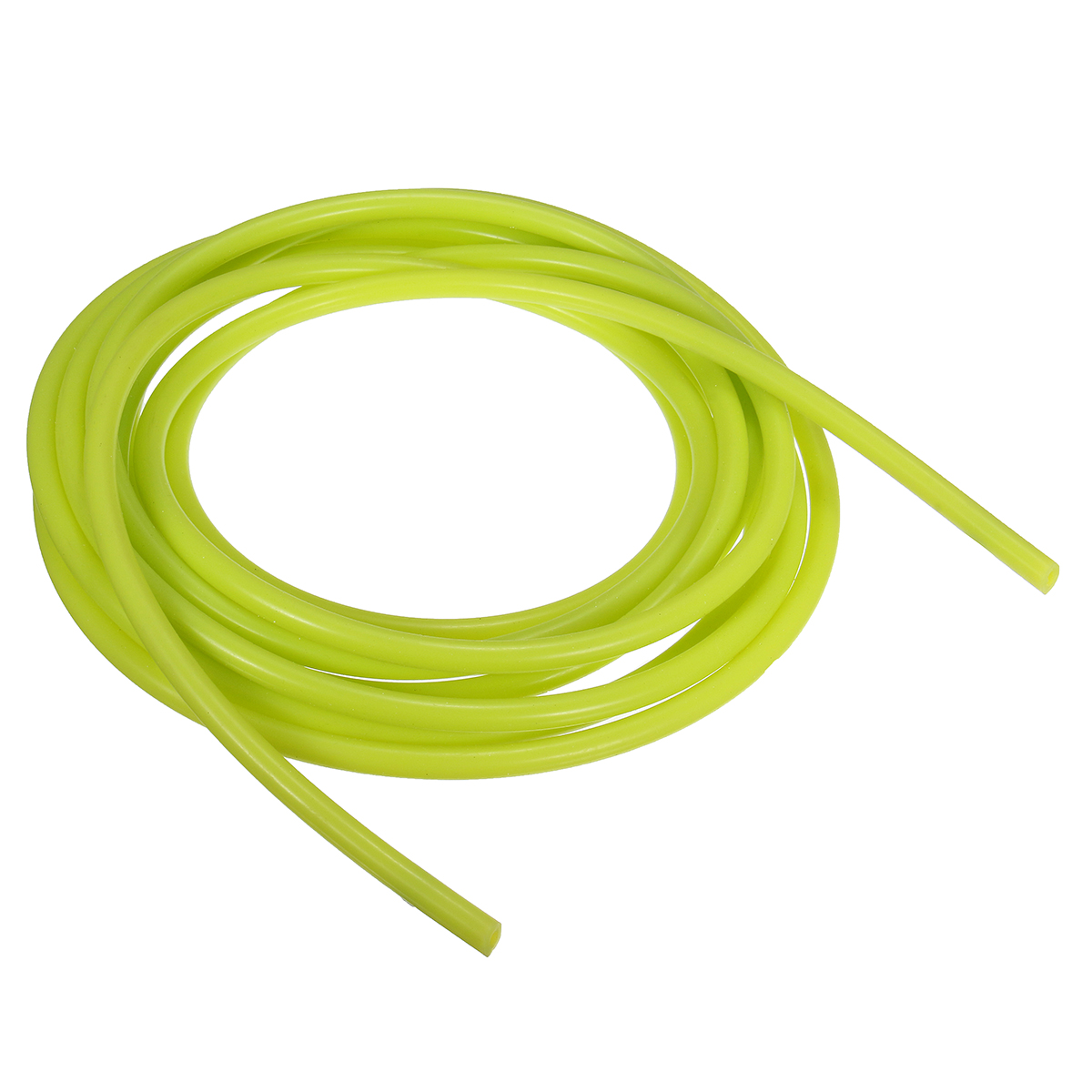 5m Length Silicone Vacuum Hose Tube Pipe Tubing Yellow Green 4mm ID 8mm OD