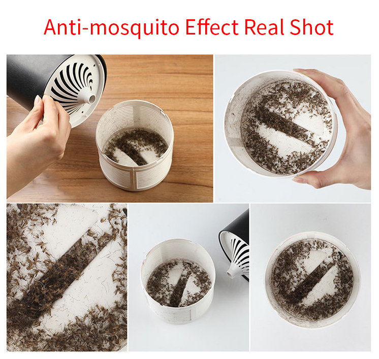 Loskii Household LED Mosquito Insect Killer Lamp Trap LED Pest Control Electric Anti Fly Repeller Bug Insect Repellent Light
