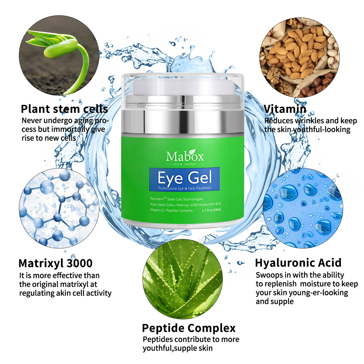 Hyaluronic Acid Repair Eye Cream Eye Gel