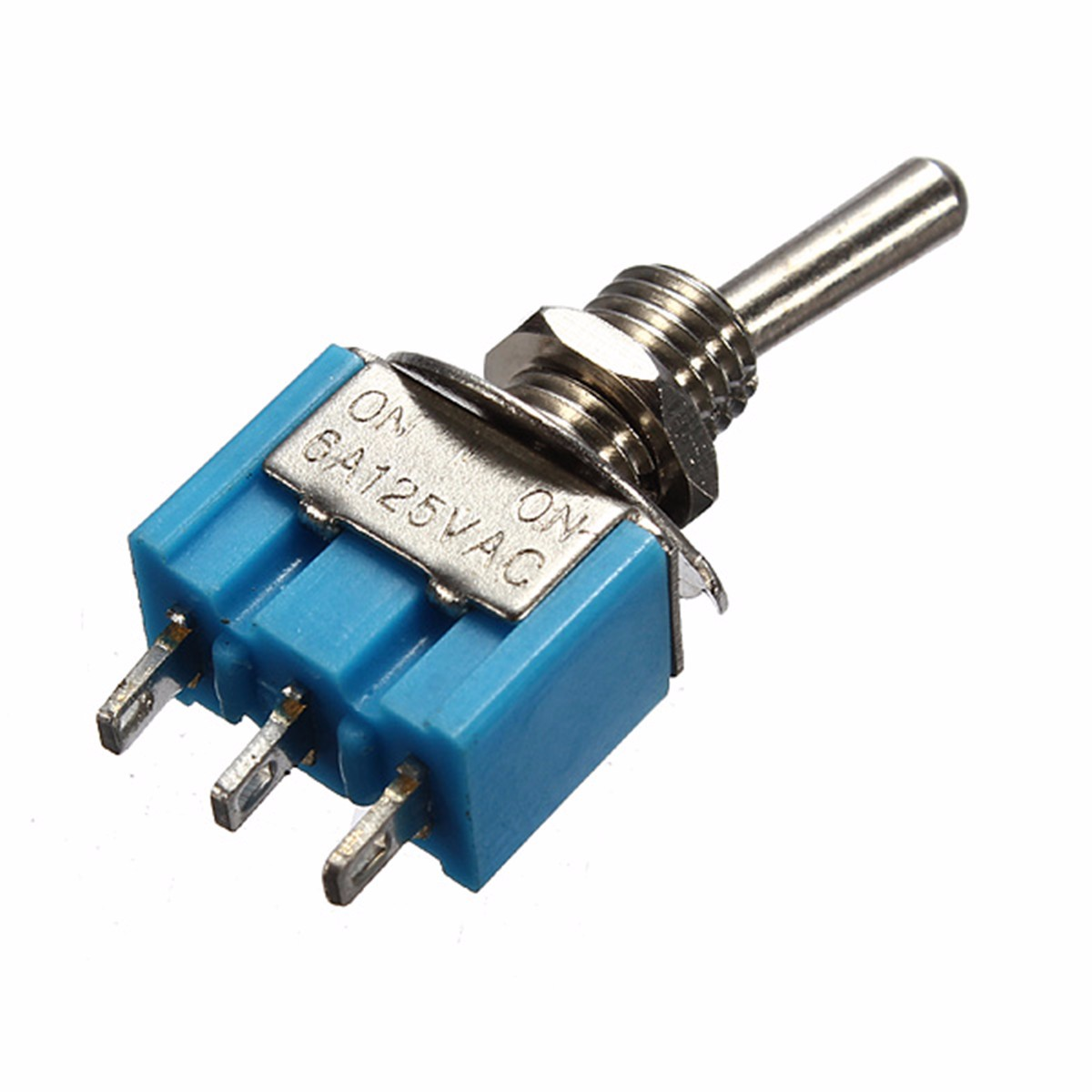 Mini 3-Pin SPDT ON-ON 6A 125VAC B102 Miniature Toggle Switches
